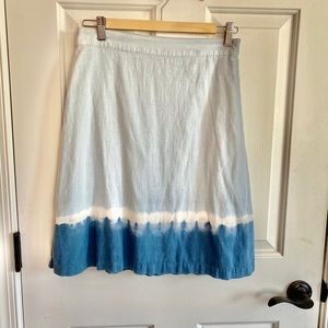 Adorable Size 24 tie dye skirt- Old Navy
